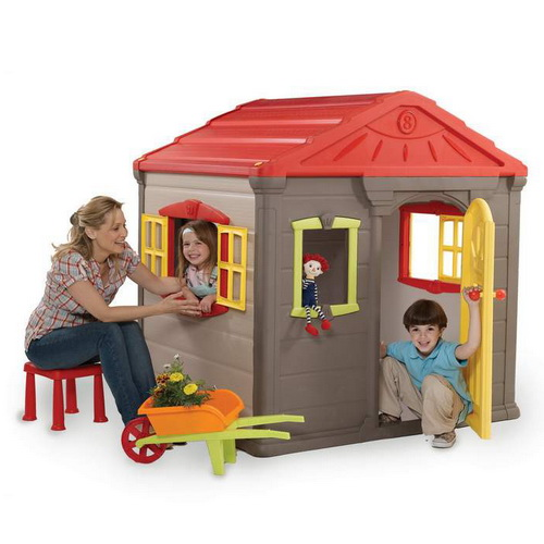 игровой домик KETER Jumbo Play House+2stools and table